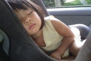 Enfant, Dormir, Siège D'Auto, Jeune Fille, Bébé